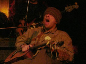 Vic Chesnutt and the Amorphous Strums performing live at the Jackpot Saloon in Lawrence, KS in 2008.