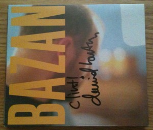 David Bazan's Curse Your Branches cd sleeve autographed