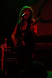 Nikki Darlin of Those Darlins at the Slowdown in Omaha, NE 10-26-11