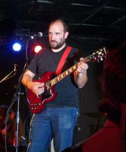 David Bazan at The Bottleneck in Lawrence, KS on 11/5/11