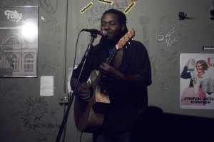 Marcus Words at the Cafe Acoustic in St. Joseph, MO on 11/26/11