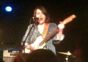 Caitlin Rose at the Bottleneck in Lawrence, KS on 2/1/12