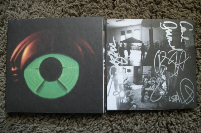 My Morning Jacket signed cd booklet