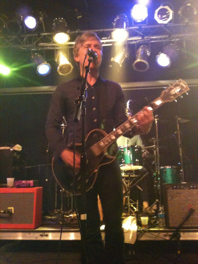 Nada Surf's Matthew Caws performing at The Waiting Room in Omaha, NE on 3/30/12