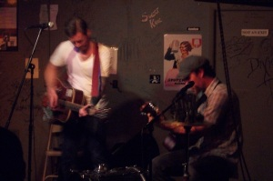 Gas Pump Talent playing the Cafe Acoustic in St. Joseph, MO on 4/6/12.