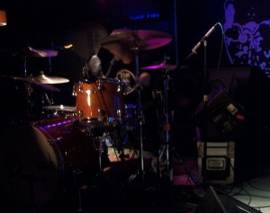 Brian St. Clair of Local H performing live at the Bombay Bicycle Club in Clive, IA on 4/7/12.