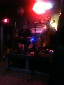 Ashley Raines performing at The Dawg House in Forrest City, MO.