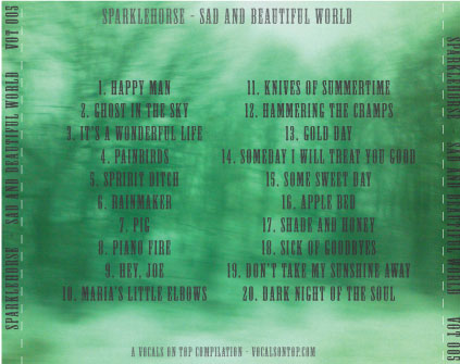 Best Of Sparklehorse Sad and Beautiful World Back