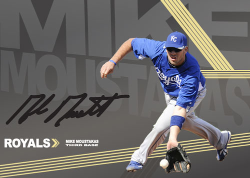 Mike Moustakas custom card