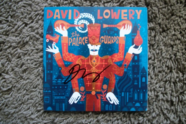 "David Lowery autographed ""The Palace Guards"" booklet"