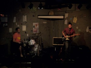 The Factory Workers at the Cafe Acoustic on 8/18/12