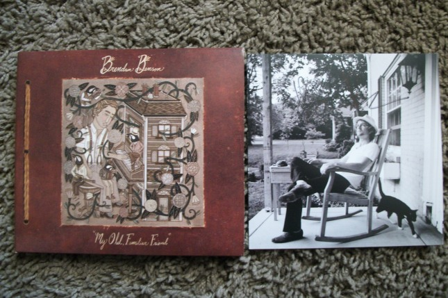 Brendan Benson signed cd booklet