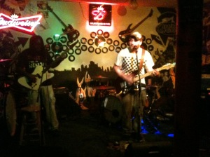 Dsoedean performs live at The Rendezvous in St. Joseph, MO earlier this year on 2/25/12.