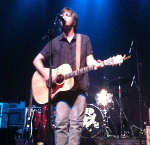 Rhett Miller performs his solo set at The Slowdown in Omaha, NE on 9/11/12.