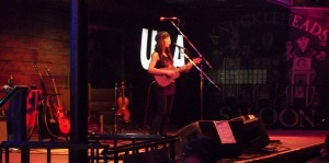 Amanda Shires performs live at Knucklehead's Saloon in Kansas City, MO on 10/23/12.
