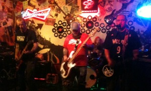 Benkirkland throws down at The Rendezvous Bar on 10/26/12.
