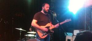 David Bazan performing at The Record Bar in Kansas City, MO on 11/5/12.
