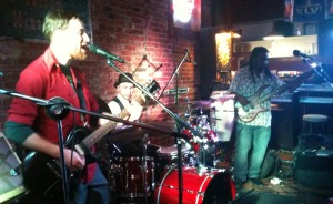Drew Ames performs at The First Ward on 12/22/12