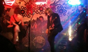 The Melismatics starting their set at The Rendezvous in St. Joseph, MO on 12/7/12.