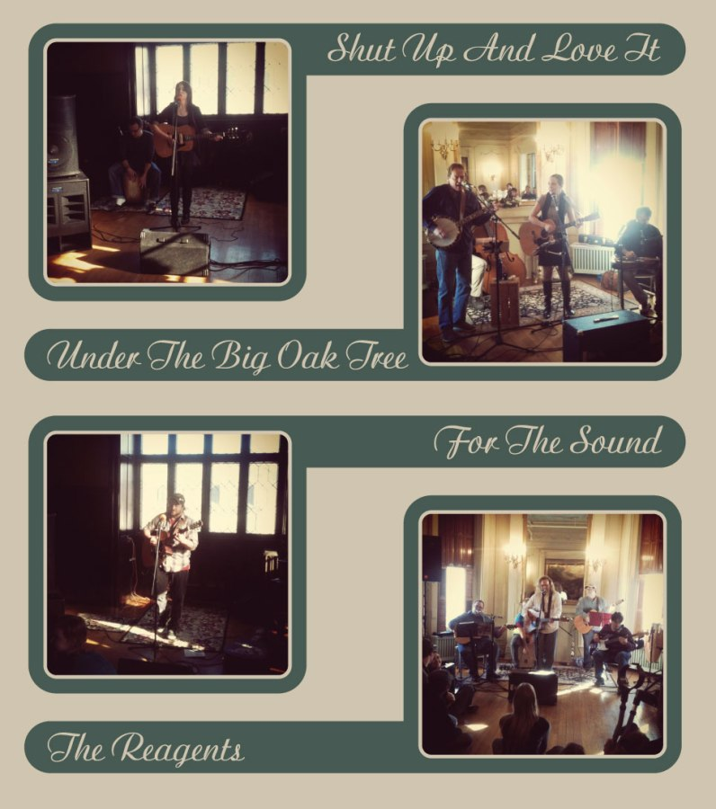 Music at the Mansion at the Wyeth-Tootle Mansion in St. Joseph, MO collage.