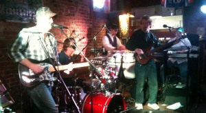 The VooDoo Babies jamming at The First Ward on 12/22/12