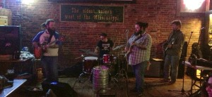 The Early Brothers Band playing at The First Ward in St. Joseph, MO on 1/12/13.