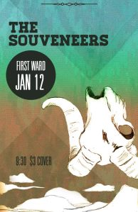 The Souveneers Concert Poster