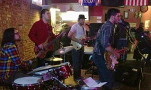 The Souveneers making feet move at The First Ward in St. Joseph, MO on 1/12/13.