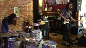 Aotearoa gets the funk down during a matinee show at the First Ward in St. Joseph, MO 2/24/13.