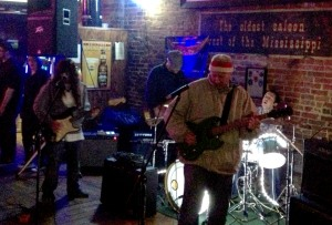 Cupcake playing live at The First Ward House in St. Joseph, Missouri on 2/22/13.