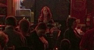 Samantha Fish performs to a packed crowd at Magoon's in St. Joseph, Missouri on 2/1/13.