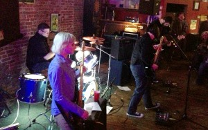 Two Piece Animator busting through their set at The First Ward House in St. Joseph, Missouri on 2/22/13.