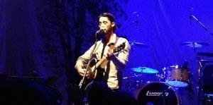 Ryan Bingham plays an intimate solo acoustic encore with his hat off during his Lawrence, Kansas show at The Granada on 3/15/13.