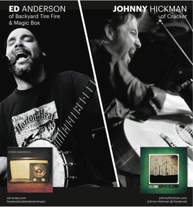 Johnny Hickman and Ed Anderson tour poster.