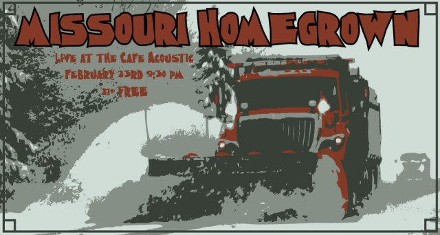 Missouri Homegrown poster by Vocals On Top.