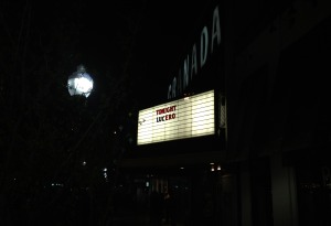 Lucero marquee at The Granada in Lawrence, KS.