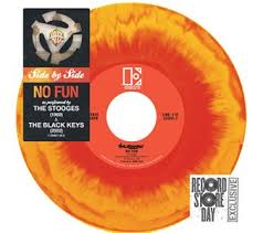 "The Stooges / Black Keys ""No Fun"" Split 7"" released for Record Store Day 2013."