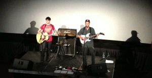 Tom Morello: The Nightwatchman performs live in Kansas City, Missouri on 5/19/13 at a special screening of Body of War.