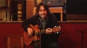 Tracy Huffman performs live at Magoon's in St. Joseph, Missouri on 5/1/13.
