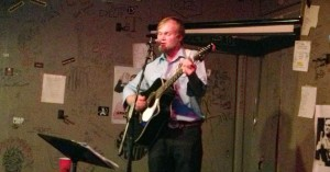 Colby Walter singing the songs of Bob Dylan on 6/13/13 at The Cafe Acoustic in St. Joseph, Missouri.