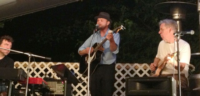 Colby Walter and Michael Coman perform at The Bad Art Bistro in St. Joseph, Missouri on 7/5/13.