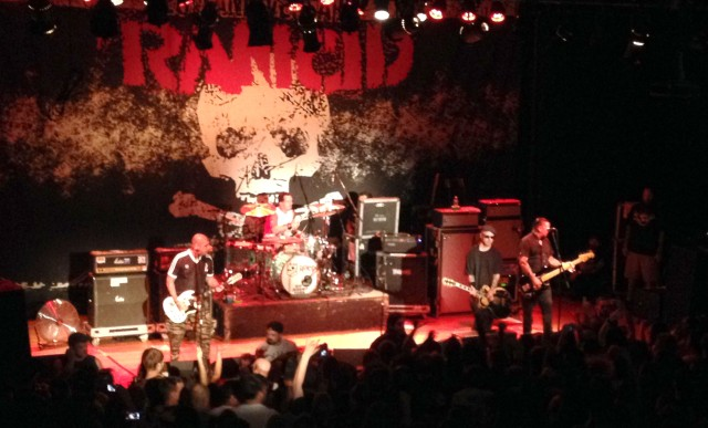 Rancid brings their 21 years of stage experience to The Granada in Lawrence, KS on 9/21/13.