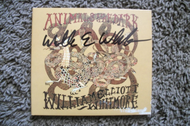 William Elliott Whitmore signed copy of Animals in the Dark