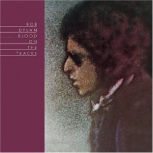 The cover of Bob Dylan's legendary 1975 album Blood On The Tracks.