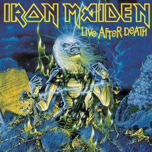 Iron Maiden - Live After Death LP jacket