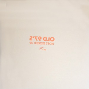 The Old 97's - Most Messed Up limited edition to 500 LP jacket