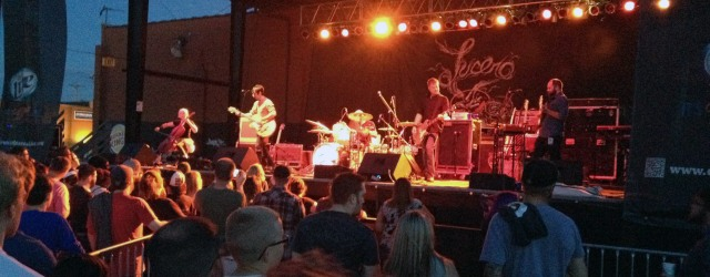 Murder By Death performs live at The Crossroads in Kansas City, Missouri on 7/15/14 opening for Lucero.