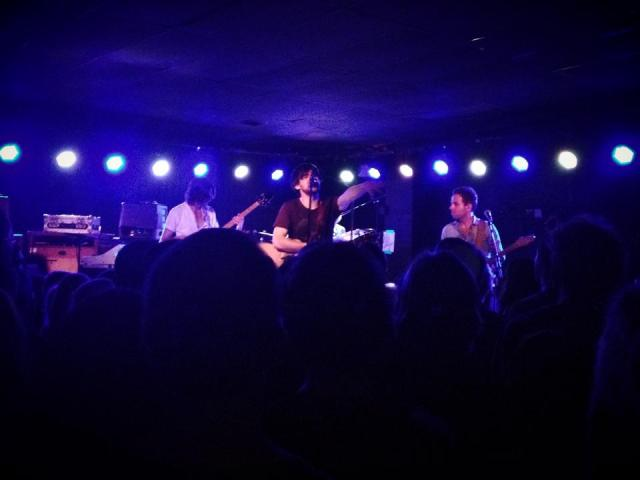 Conor Oberst & Dawes performing live at The Bottleneck in Lawrence, Kansas on 7/3/14