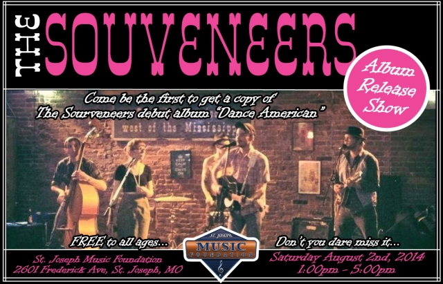 Souveneers record release Poster