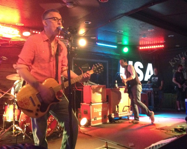 The Toadies celebrate the 20th anniversary of their landmark album Rubberneck by playing it in it's entirety at Knucklehead's Saloon in Kansas City, Misosuri on 7/31/14.
